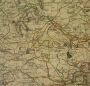 Andrew's and Dury's 1773 Map of Wiltshire