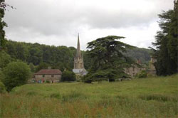 Settlement in the AONB