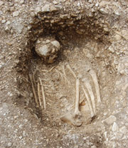 Middle Bronze Age Burial, Down Farm